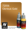 Vallejo Game Color: Acrylic Paint - Glorious Gold (17ml)