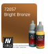Vallejo Game Color: Acrylic Paint - Bright Bronze (17ml)