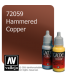 Vallejo Game Color: Acrylic Paint - Hammered Copper (17ml)