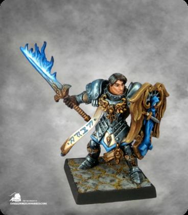 Warlord: Crusaders - Almaran the Gold, Paladin With Flaming Sword