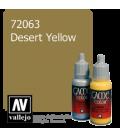 Vallejo Game Color: Acrylic Paint - Desert Yellow (17ml)