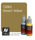 Vallejo Game Color: Acrylic Paint - Desert Yellow (17ml)