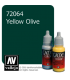 Vallejo Game Color: Acrylic Paint - Yellow Olive (17ml)