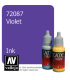 Vallejo Game Color: Acrylic Paint - Violet Ink (17ml)