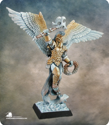 Warlord: Crusaders - Uriel, Guardian Angel, Solo (painted by Derek Schubert)