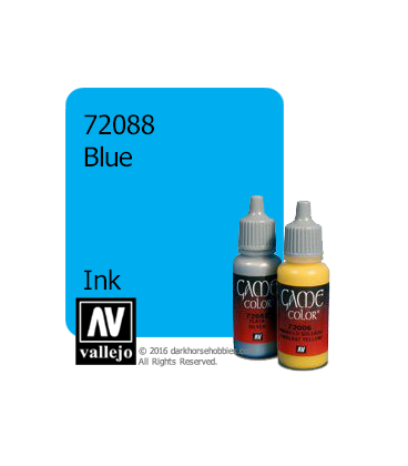 Vallejo Game Color: Acrylic Paint -Blue Ink (17ml)