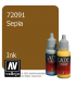 Vallejo Game Color: Acrylic Paint - Sepia Ink (17ml)
