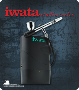 Iwata Freestyle Air Battery-Powered Airbrush Compressor