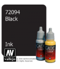Vallejo Game Color: Acrylic Paint - Black Ink (17ml)