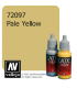 Vallejo Game Color: Acrylic Paint - Pale Yellow (17ml)