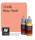 Vallejo Game Color: Acrylic Paint - Rosy Flesh (17ml)