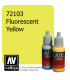 Vallejo Game Color: Acrylic Paint - Fluorescent Yellow (17ml)