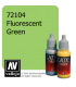 Vallejo Game Color: Acrylic Paint - Fluorescent Green (17ml)