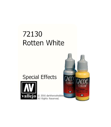Vallejo Game Color: Acrylic Paint - SFX Rotten White (17ml)