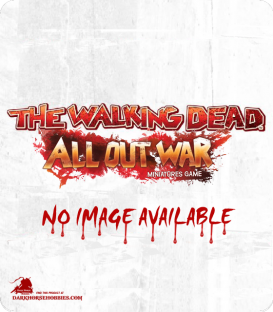 The Walking Dead: AOW - Altanta Suburbs Gaming Mat