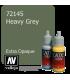 Vallejo Game Color: Acrylic Paint - Heavy Grey (17ml)