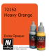 Vallejo Game Color: Acrylic Paint - Heavy Orange (17ml)