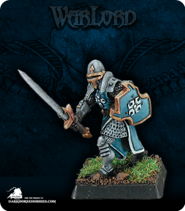 Warlord: Crusaders - Templar Knight Warrior (painted by Anne Foerster)