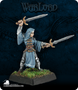 Warlord: Crusaders - Sister Elena, Battlenun (painted by Anne Foerster)