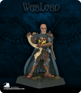 Warlord: Crusaders - Hospitalier Adept (painted by Kyle Killingsworth)