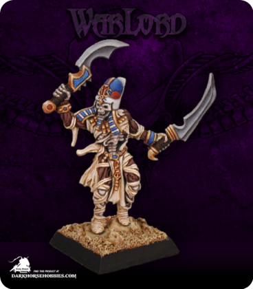 Warlord: Nefsokar - Khadath, Captain (painted by Anne Foerster)
