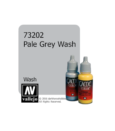 Vallejo Game Color: Acrylic Paint - Pale Grey Wash (17ml)