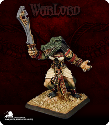 Warlord: Nefsokar - Ammat, Captain (painted by Anne Foerster)