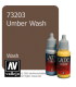 Vallejo Game Color: Acrylic Paint - Umber Wash (17ml)