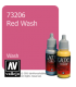 Vallejo Game Color: Acrylic Paint - Red Wash (17ml)