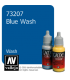 Vallejo Game Color: Acrylic Paint - Blue Wash (17ml)