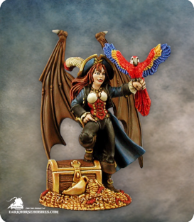 Pirate Sophie [54mm] (painted by Anne Foerster)