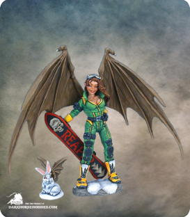 2006 Christmas Sophie [54mm] (painted by Anne Foerster)