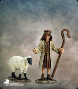 The Nativity: Shepherd (painted by Martin Jones)