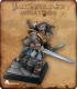 Pathfinder Miniatures: Valeros, Iconic Male Human Fighter