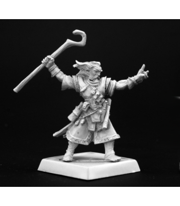 Pathfinder Miniatures: Ezren, Iconic Male Human Wizard (painted by Derek Schubert)