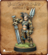 Pathfinder Miniatures: Amiri, Iconic Female Human Barbarian