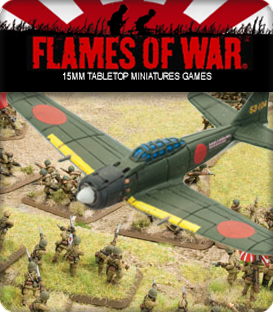 Flames of War: WWII Pacific Theater Japan