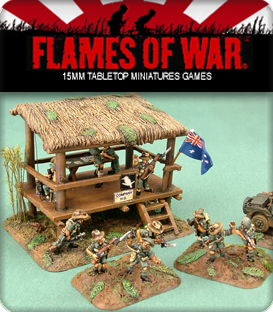 Flames of War: WWII Pacific Theater Terrain
