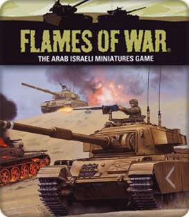 Flames of War: Arab-Israeli War Jordanians