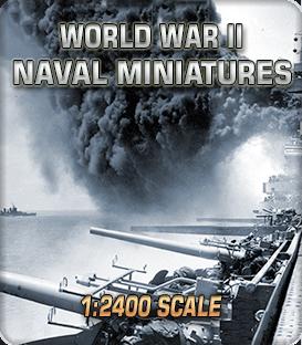 1:2400 Scale World War II