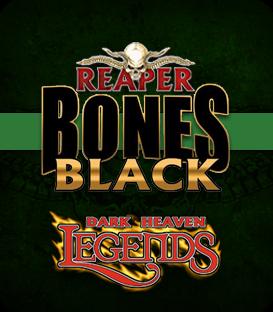 Dark Heaven Bones Black