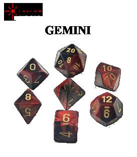 Gemini Polyhedral Dice Sets