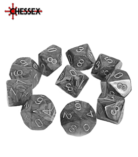 16mm 10 Sided Dice Sets