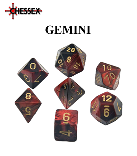 Gemini D10 Dice Sets