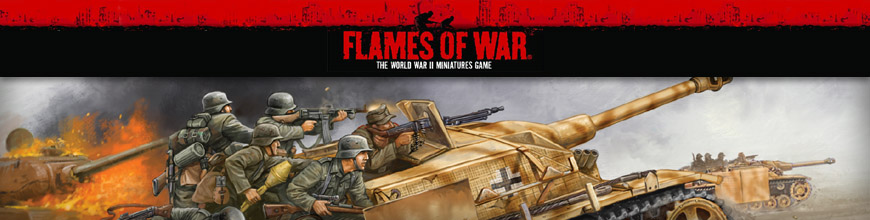Shop for Flames of War Rules, Miniatures and Other Gaming Products for World War 2 Tabletop Wargaming at Dark Horse Hobbies - Today!