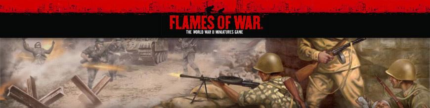 Shop for Flames of War USSR/Russian World War 2 Tabletop Gaming Miniatures at Dark Horse Hobbies - Today!