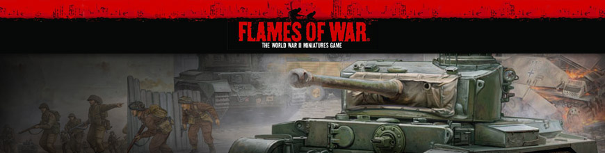 Shop for Flames of War British World War 2 Tabletop Gaming Miniatures at Dark Horse Hobbies - Today!
