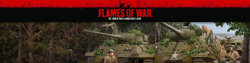 Shop for Flames of War American World War 2 Tabletop Gaming Miniatures at Dark Horse Hobbies - Today!