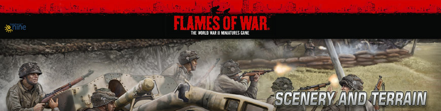 Shop for Flames of War Buildings, Scenery and Terrain at Dark Horse Hobbies... Today!