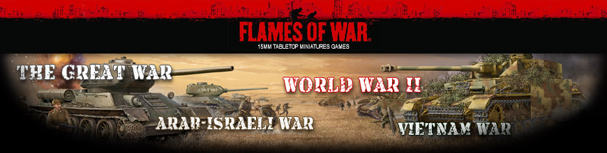 Shop for Flames of War Miniatures and Game Supplies by Battlefront Miniatures at Dark Horse Hobbies - Today!